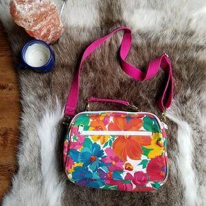 Liz Claiborne | Vintage 90s Floral Crossbody Bag